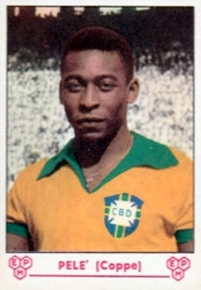 Pelé Rookie Cards Gallery and Autograph Memorabilia Guide 10