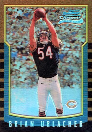 Brian Urlacher Rookie Cards and Memorabilia Guide 4