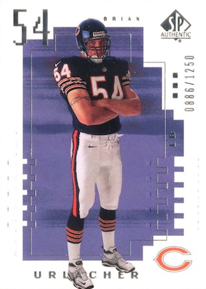 Brian Urlacher Rookie Cards and Memorabilia Guide 3