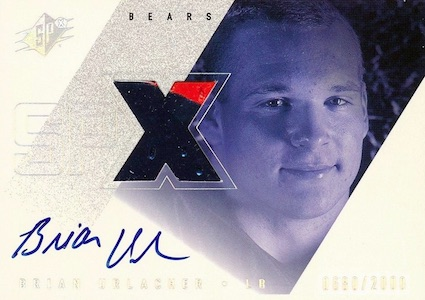 Brian Urlacher Rookie Cards and Memorabilia Guide 2