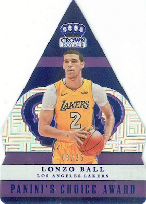 2017-18 Panini Crown Royale Basketball Cards 31