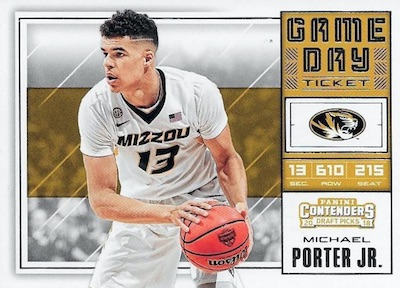 2018-19 Panini Contenders Draft Picks Basketball Cards 31