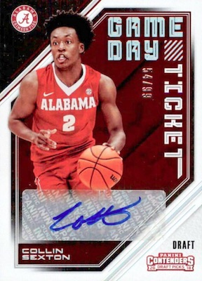 2018-19 Panini Contenders Draft Picks Basketball Cards 28