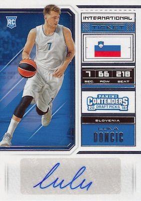 Top Luka Doncic Rookie Cards to Collect 19