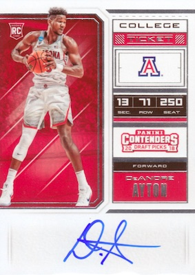 2018-19 Panini Contenders Draft Picks Basketball Cards 5
