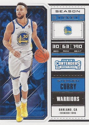 2018 19 Panini Contenders Draft Picks Basketball Cards