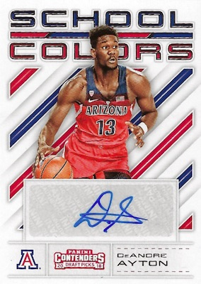 2018-19 Panini Contenders Draft Picks Basketball Cards 30