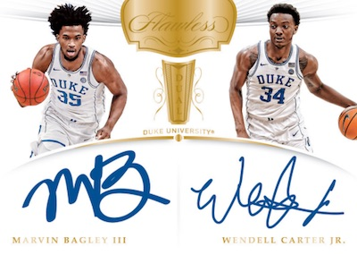 2018-19 Panini Flawless Collegiate Basketball Cards 7