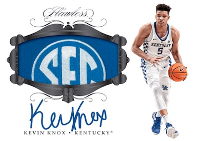 2018-19 Panini Flawless Collegiate Basketball Cards 6
