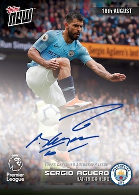 2018-19 Topps Now Premier League Soccer Cards 1