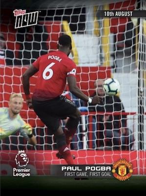2018-19 Topps Now Premier League Soccer Cards 2