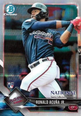 Ronald Acuna Rookie Cards Checklist Gallery Prospects