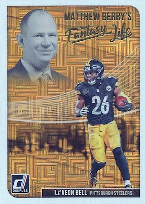 2018 Donruss Football Cards 34