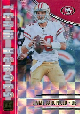 2018 Donruss Football Cards 35
