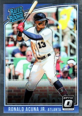 Ronald Acuna Jr. Rookie Cards Checklist and Gallery 9