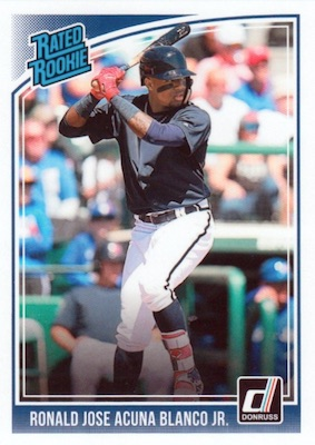 Ronald Acuna Jr. Rookie Cards Checklist and Gallery 8