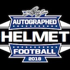 2018 Leaf Autographed Football Helmet