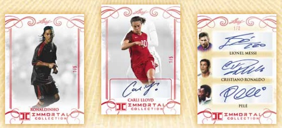 2018 Leaf Immortal Collection Soccer Cards 3