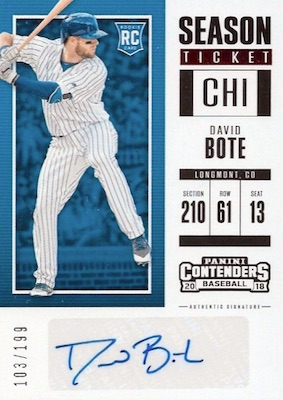 2018 Panini Chronicles Baseball