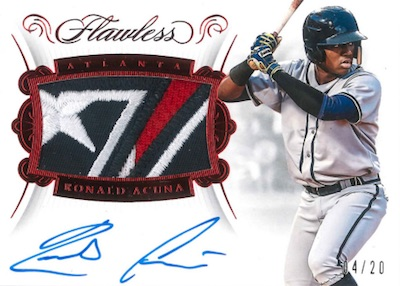 2018 Panini Flawless Baseball