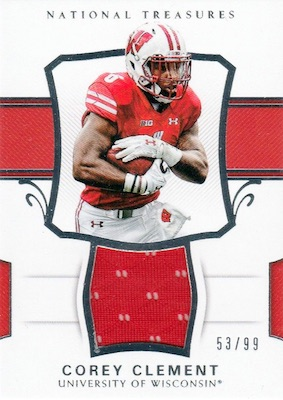 2018 Panini National Treasures Collegiate Football Cards 26