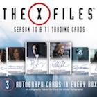 2018 Rittenhouse X-Files Seasons 10 & 11 Trading Cards