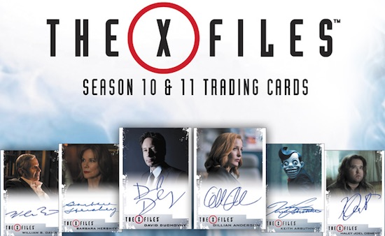 2018 Rittenhouse X-Files Seasons 10 & 11 Trading Cards 3