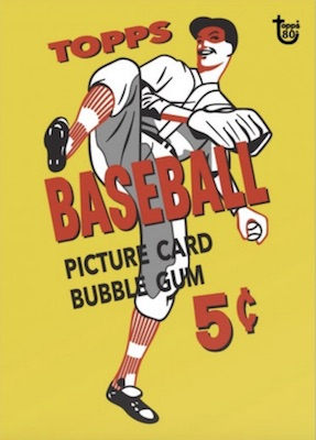 2018 Topps 80th Anniversary Wrapper Art Cards Gallery 76