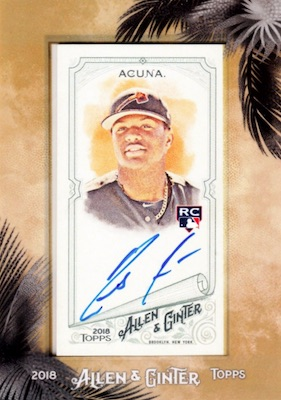 Ronald Acuna Jr. Rookie Cards Checklist and Gallery 22