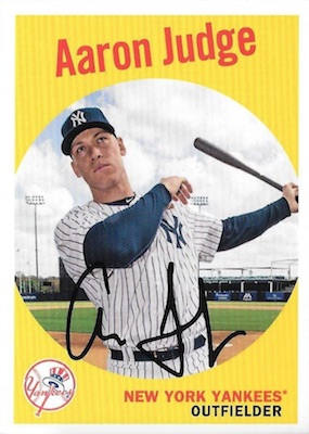 2018 Topps Archives Baseball Variations Guide 8