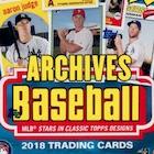 2018 Topps Archives Baseball Cards