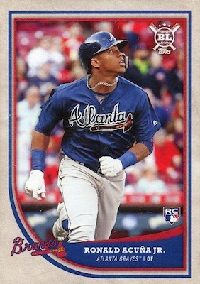 Ronald Acuna Jr. Rookie Cards Checklist and Gallery 26