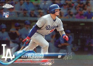 2018 Topps Chrome Baseball Variations Refractor Guide 45