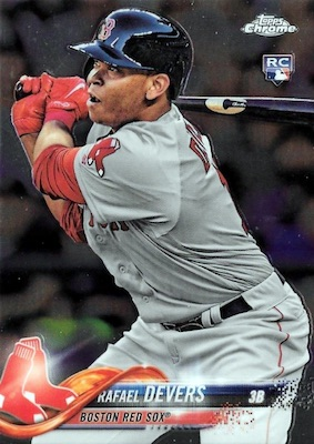 2018 Topps Chrome Baseball Variations Refractor Guide 7