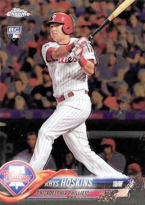 2018 Topps Chrome Baseball Variations Refractor Guide 19