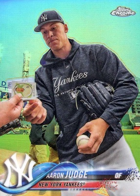 2018 Topps Chrome Baseball Variations Refractor Guide 4