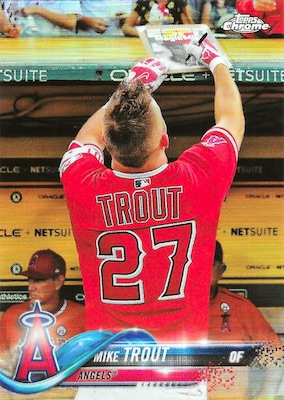 2018 Topps Chrome Baseball Variations Refractor Guide 30