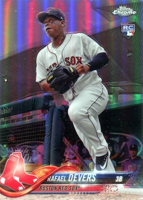 2018 Topps Chrome Baseball Variations Refractor Guide 8