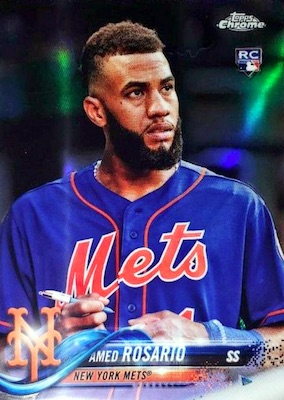 2018 Topps Chrome Baseball Variations Refractor Guide 18