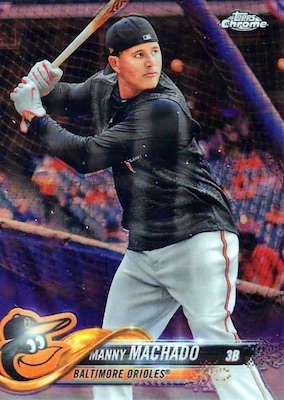 2018 Topps Chrome Baseball Variations Refractor Guide 26