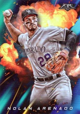 2018 Topps Fire Baseball Cards 28