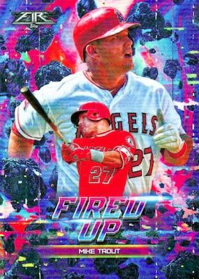 2018 Topps Fire Baseball Cards 4