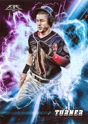 2018 Topps Fire Baseball Cards 33