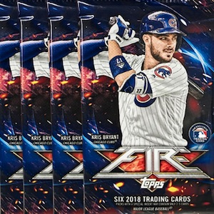 2 HITS Per Box with One Autographed Guaranteed! Free Shipping! Exclusively Sold at Target 2017 Topps Fire Baseball Hobby Box of 20 Packs of 6 Cards Possible Aaron Judge Autograph
