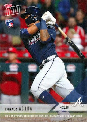 Ronald Acuna Jr. Rookie Cards Checklist and Gallery 44