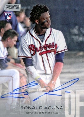 Ronald Acuna Jr. Rookie Cards Checklist and Gallery 46