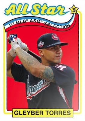 2018 Topps Throwback Thursday Baseball Cards 24