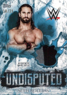 2018 Topps WWE Undisputed Wrestling Cards 7