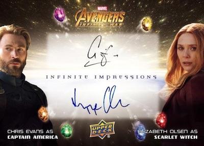 Upper Deck Avengers Infinity War