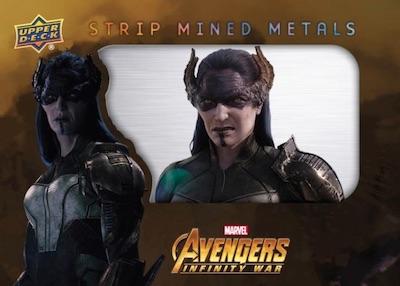 2018 Upper Deck Avengers Infinity War Trading Cards 4